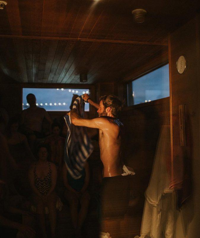 Hewing Hotel | Rooftop Sauna